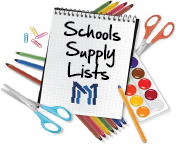 2020-2021 Supply Lists & Summer Reading