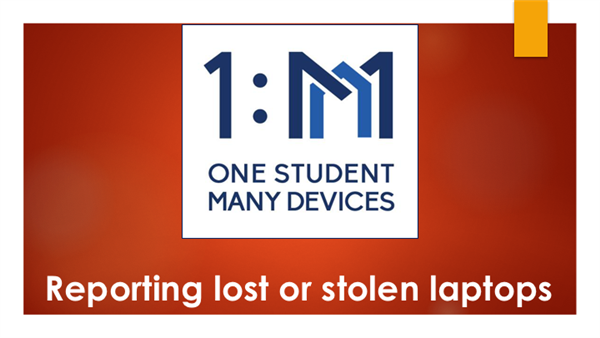 Lost or Stolen laptops