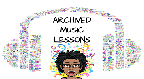 Archived Music Lessons