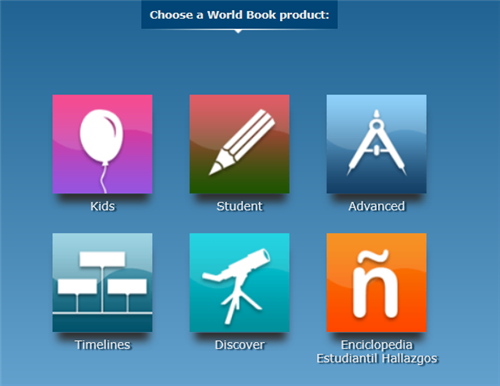 Worldbook Online Products