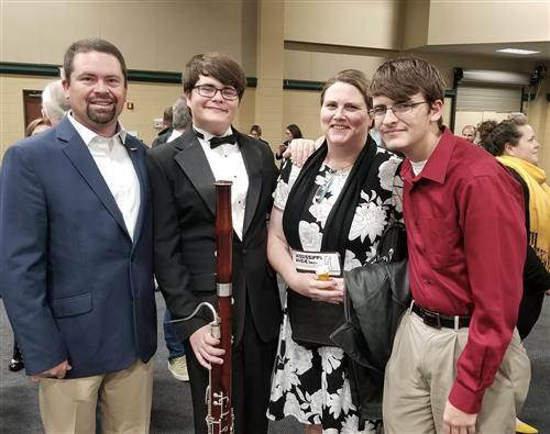 All State Band in Natchez MS 2019