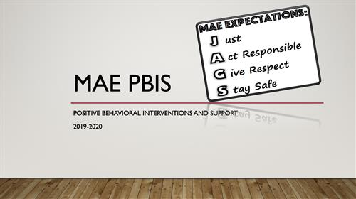 PBIS Information and Descriptions