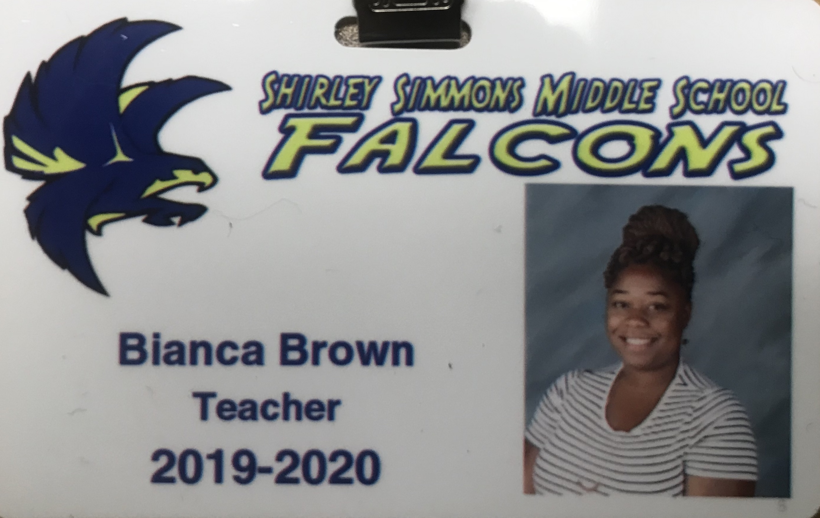 Photo of Ms. Brown
