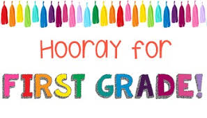 Hooray for first grade!